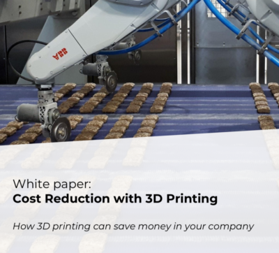 Additive Center White paper Cost reduction with 3D printing