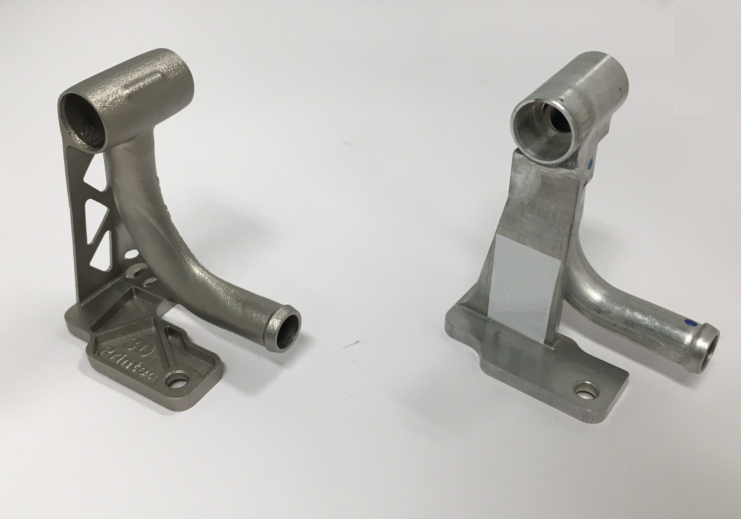 3D printed metal parts Automotive by Additive Center for Burgaflex