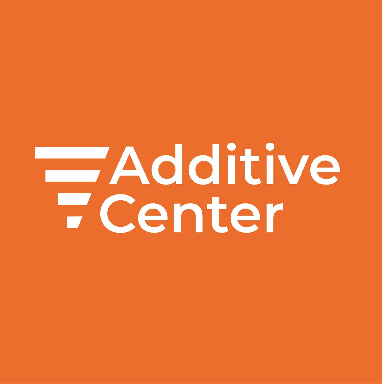 Additive Center logo - Orange - Without text