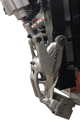 Machinery - 3D printing metal - Topological optimization - Part integration - Additive Center - WEMO -